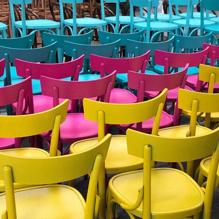 sedie moderne in legno